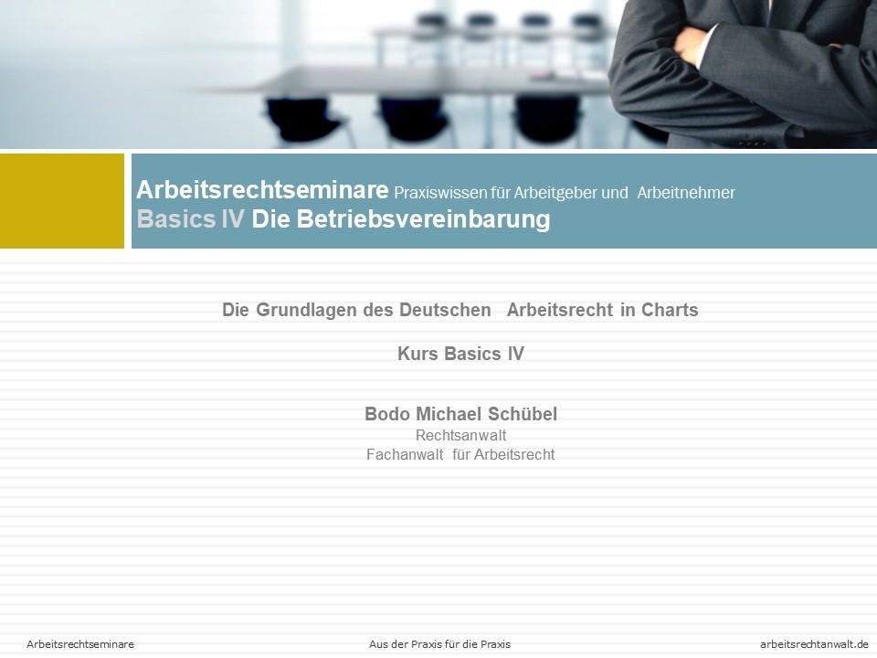Basics-IV-Die-Betriebsvereinbarung